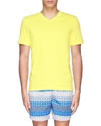Danward V Neck Jersey T Shirt