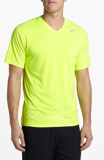 5653fdf6 Nike Legend Dri Fit V Neck T Shirt, $22 | Nordstrom | Lookastic.com