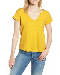 Rebecca Minkoff Lonnie Slit Shoulder Tee