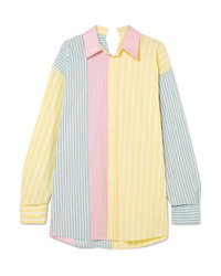 Marni Oversized Striped Cotton Shirt