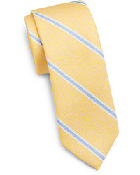 Yellow Vertical Striped Tie