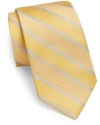Stanley Striped Silk Tie