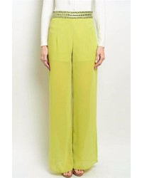 The Clothing Company Jeweled Palazzo Pants