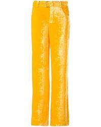 Arthur Arbesser Belted Wide Leg Trousers
