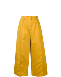 Marni Wide Leg Cropped Trousers