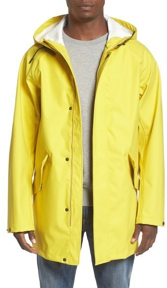 Converse Rubber Fishtail Rain Jacket   Where to buy & how to wear