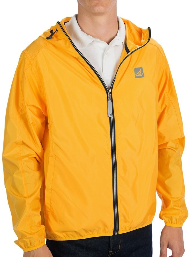 Sperry Hooded Windbreaker Jacket   Where to buy & how to wear