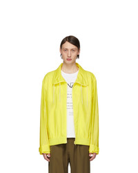 Kenzo Yellow Neon Windbreaker Jacket