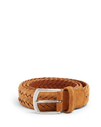 Andersons Andersons Woven Suede Belt