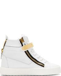 Zapatillas altas blancas