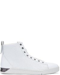 Comprar unas zapatillas blancas Diesel de SSENSE | Moda para