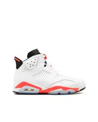 Zapatillas altas blancas de Jordan