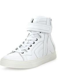 Zapatillas altas blancas de Pierre Hardy