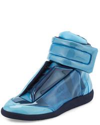 Zapatillas altas celestes de Maison Margiela