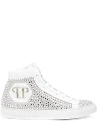 Comprar unas zapatillas altas con adornos blancas: elegir
