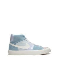 Zapatillas altas de ante celestes de Nike