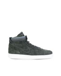 Zapatillas altas de ante en gris oscuro de Nike