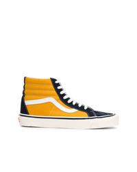 Zapatillas altas de ante en multicolor de Vans