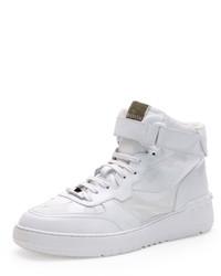 Zapatillas altas de camuflaje blancas de Valentino