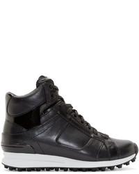 Zapatillas altas de cuero negras de 3.1 Phillip Lim