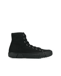 Zapatillas altas de lona negras de Both
