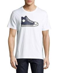 Zapatillas altas estampadas blancas de Mostly Heard Rarely Seen