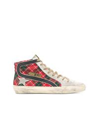 Zapatillas altas estampadas en multicolor de Golden Goose Deluxe Brand