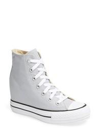 Zapatillas altas grises de Converse