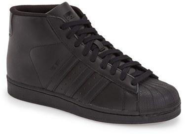 zapatillas adidas altas negras