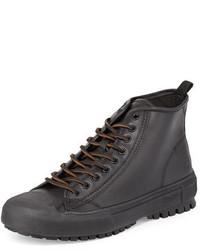 Zapatillas altas negras de Frye