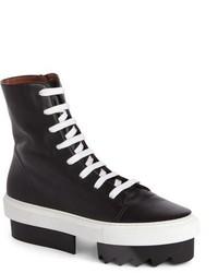 Zapatillas altas negras de Givenchy