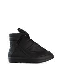 Zapatillas altas negras de Rick Owens DRKSHDW