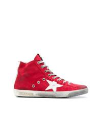 Zapatillas altas rojas de Golden Goose Deluxe Brand