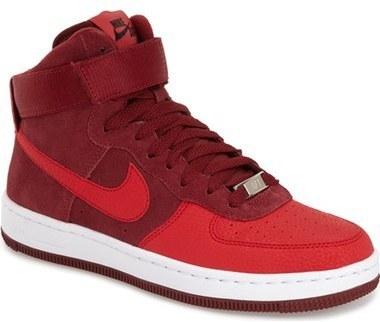 the best attitude c26d0 41cdb ... Zapatillas altas rojas de Nike ...