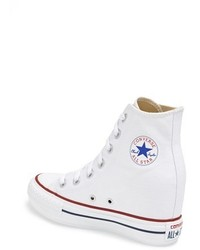 converse all star blancas cuña
