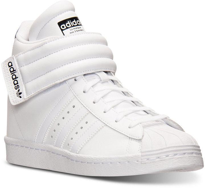 adidas superstar blancas cuña