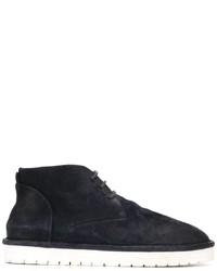 Zapatillas de ante azul marino de Marsèll