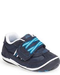 Zapatillas de ante azul marino de Stride Rite