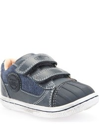 Zapatillas de ante azules de Geox