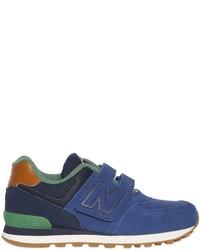 Zapatillas de ante azules de New Balance