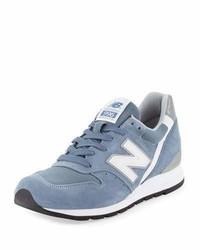 Zapatillas de ante celestes de New Balance