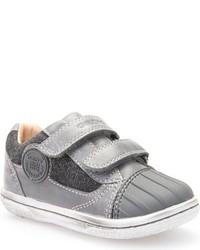 Zapatillas de ante grises de Geox
