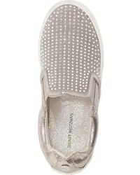 Zapatillas de ante grises de Stuart Weitzman