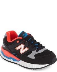 Zapatillas de ante negras de New Balance