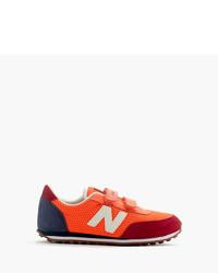 Zapatillas de ante rojas de New Balance