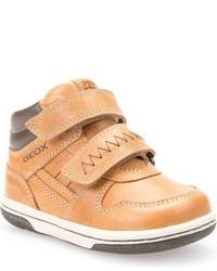Zapatillas de cuero amarillas de Geox