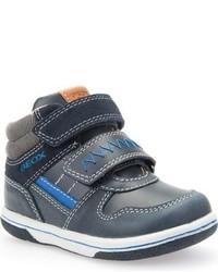Zapatillas de cuero azules de Geox