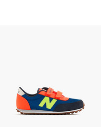Zapatillas de cuero azules de New Balance