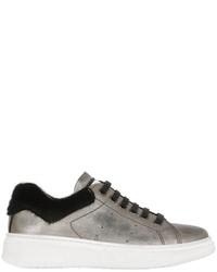 Zapatillas de cuero grises de Momino
