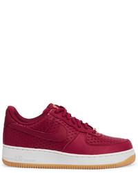 Zapatillas de cuero morado oscuro de Nike